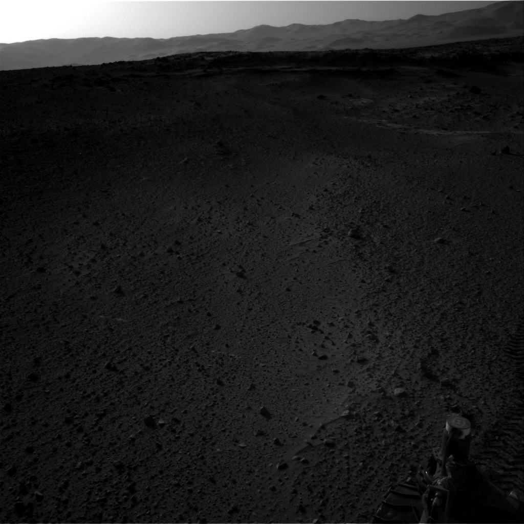Nasa's Mars rover Curiosity acquired this image using its Right Navigation Camera on Sol 553, at drive 264, site number 28