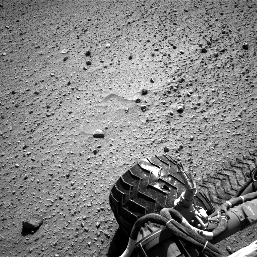 Nasa's Mars rover Curiosity acquired this image using its Right Navigation Camera on Sol 554, at drive 298, site number 28