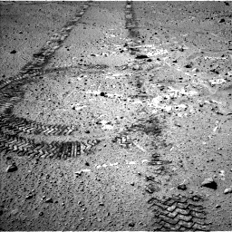 Nasa's Mars rover Curiosity acquired this image using its Left Navigation Camera on Sol 555, at drive 304, site number 28