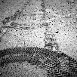 Nasa's Mars rover Curiosity acquired this image using its Left Navigation Camera on Sol 555, at drive 316, site number 28