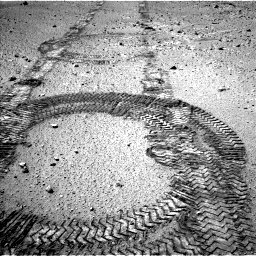 Nasa's Mars rover Curiosity acquired this image using its Left Navigation Camera on Sol 555, at drive 328, site number 28