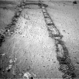 Nasa's Mars rover Curiosity acquired this image using its Left Navigation Camera on Sol 555, at drive 382, site number 28