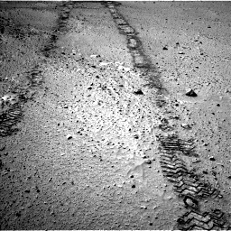 Nasa's Mars rover Curiosity acquired this image using its Left Navigation Camera on Sol 555, at drive 418, site number 28