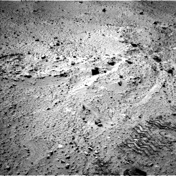 Nasa's Mars rover Curiosity acquired this image using its Left Navigation Camera on Sol 555, at drive 436, site number 28