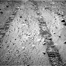 Nasa's Mars rover Curiosity acquired this image using its Left Navigation Camera on Sol 555, at drive 544, site number 28