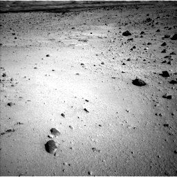 Nasa's Mars rover Curiosity acquired this image using its Left Navigation Camera on Sol 555, at drive 604, site number 28