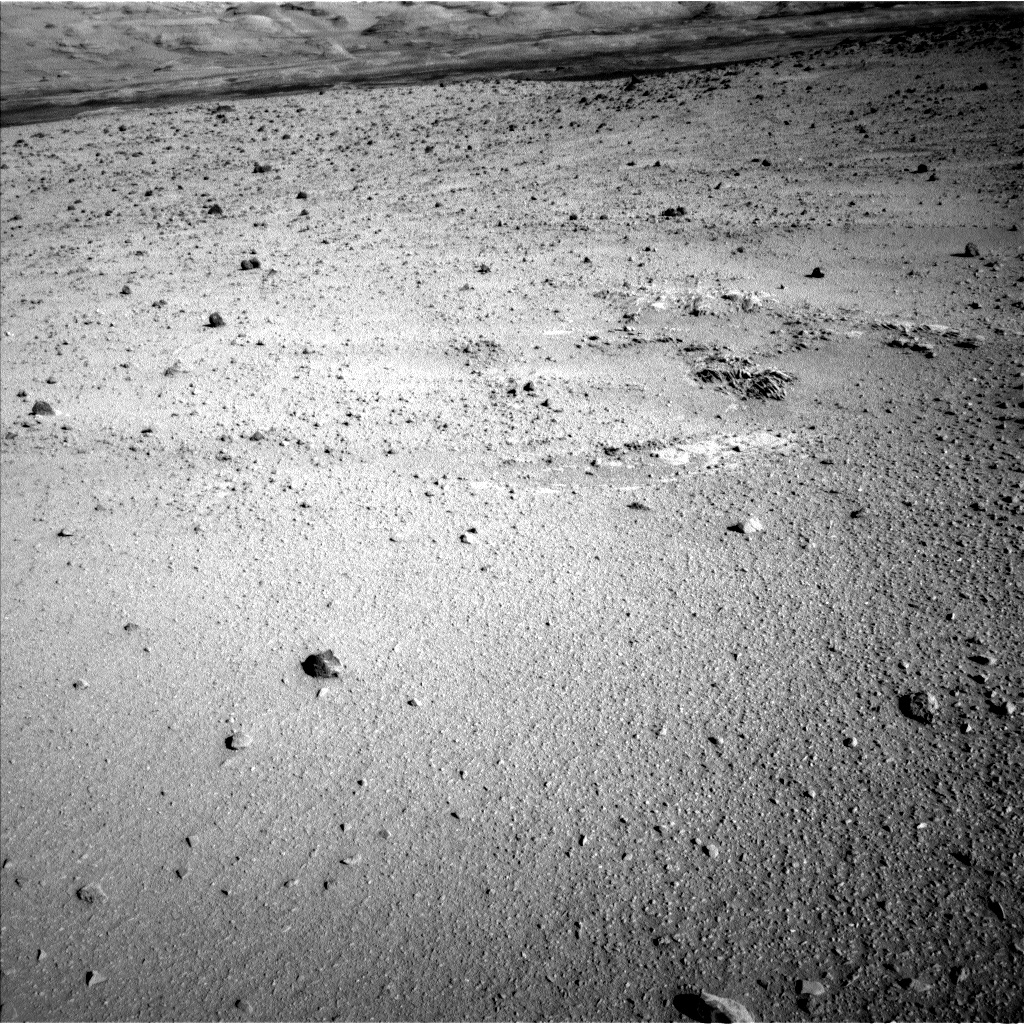Nasa's Mars rover Curiosity acquired this image using its Left Navigation Camera on Sol 555, at drive 634, site number 28