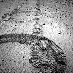 Nasa's Mars rover Curiosity acquired this image using its Right Navigation Camera on Sol 555, at drive 322, site number 28