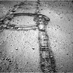 Nasa's Mars rover Curiosity acquired this image using its Right Navigation Camera on Sol 555, at drive 346, site number 28