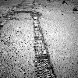 Nasa's Mars rover Curiosity acquired this image using its Right Navigation Camera on Sol 555, at drive 364, site number 28