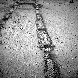 Nasa's Mars rover Curiosity acquired this image using its Right Navigation Camera on Sol 555, at drive 376, site number 28