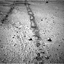 Nasa's Mars rover Curiosity acquired this image using its Right Navigation Camera on Sol 555, at drive 406, site number 28