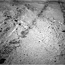 Nasa's Mars rover Curiosity acquired this image using its Right Navigation Camera on Sol 555, at drive 424, site number 28