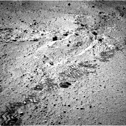 Nasa's Mars rover Curiosity acquired this image using its Right Navigation Camera on Sol 555, at drive 442, site number 28