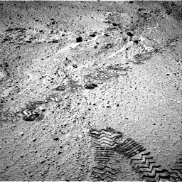 Nasa's Mars rover Curiosity acquired this image using its Right Navigation Camera on Sol 555, at drive 448, site number 28