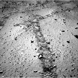 Nasa's Mars rover Curiosity acquired this image using its Right Navigation Camera on Sol 555, at drive 484, site number 28