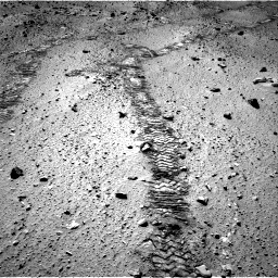Nasa's Mars rover Curiosity acquired this image using its Right Navigation Camera on Sol 555, at drive 490, site number 28
