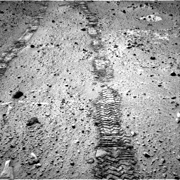 Nasa's Mars rover Curiosity acquired this image using its Right Navigation Camera on Sol 555, at drive 526, site number 28