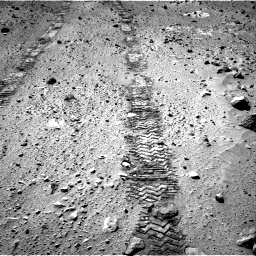 Nasa's Mars rover Curiosity acquired this image using its Right Navigation Camera on Sol 555, at drive 538, site number 28