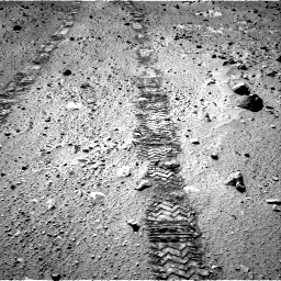 Nasa's Mars rover Curiosity acquired this image using its Right Navigation Camera on Sol 555, at drive 544, site number 28