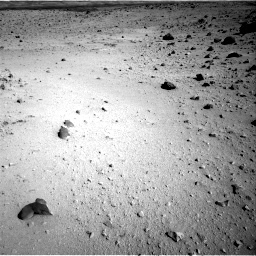 Nasa's Mars rover Curiosity acquired this image using its Right Navigation Camera on Sol 555, at drive 592, site number 28