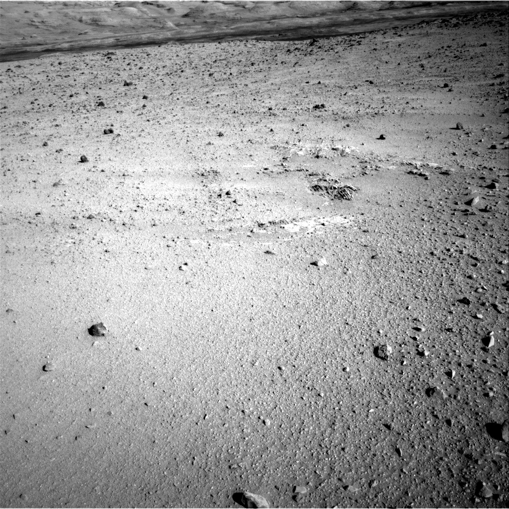 Nasa's Mars rover Curiosity acquired this image using its Right Navigation Camera on Sol 555, at drive 634, site number 28
