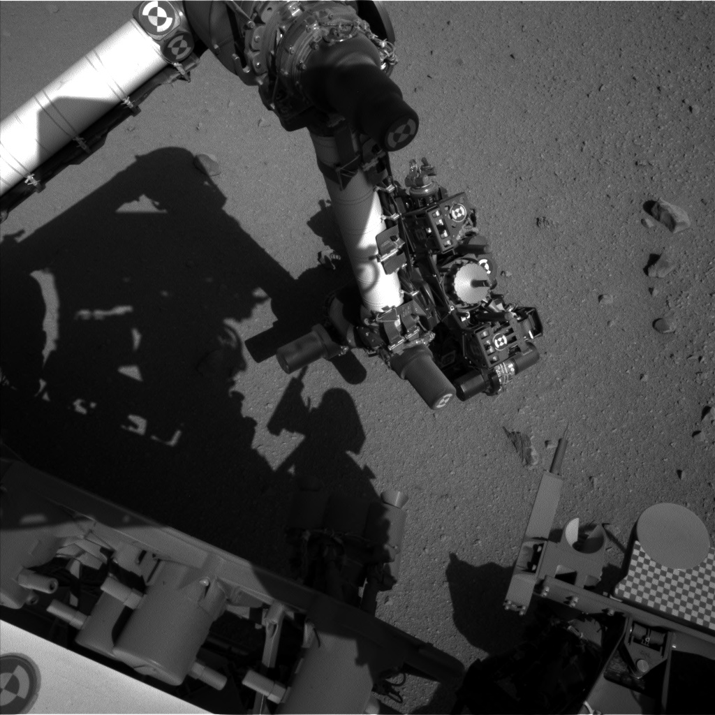 Nasa's Mars rover Curiosity acquired this image using its Left Navigation Camera on Sol 558, at drive 634, site number 28