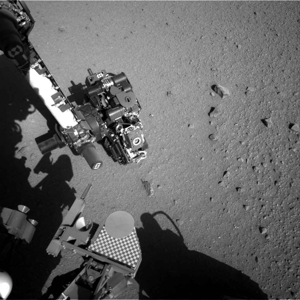 Nasa's Mars rover Curiosity acquired this image using its Right Navigation Camera on Sol 558, at drive 634, site number 28