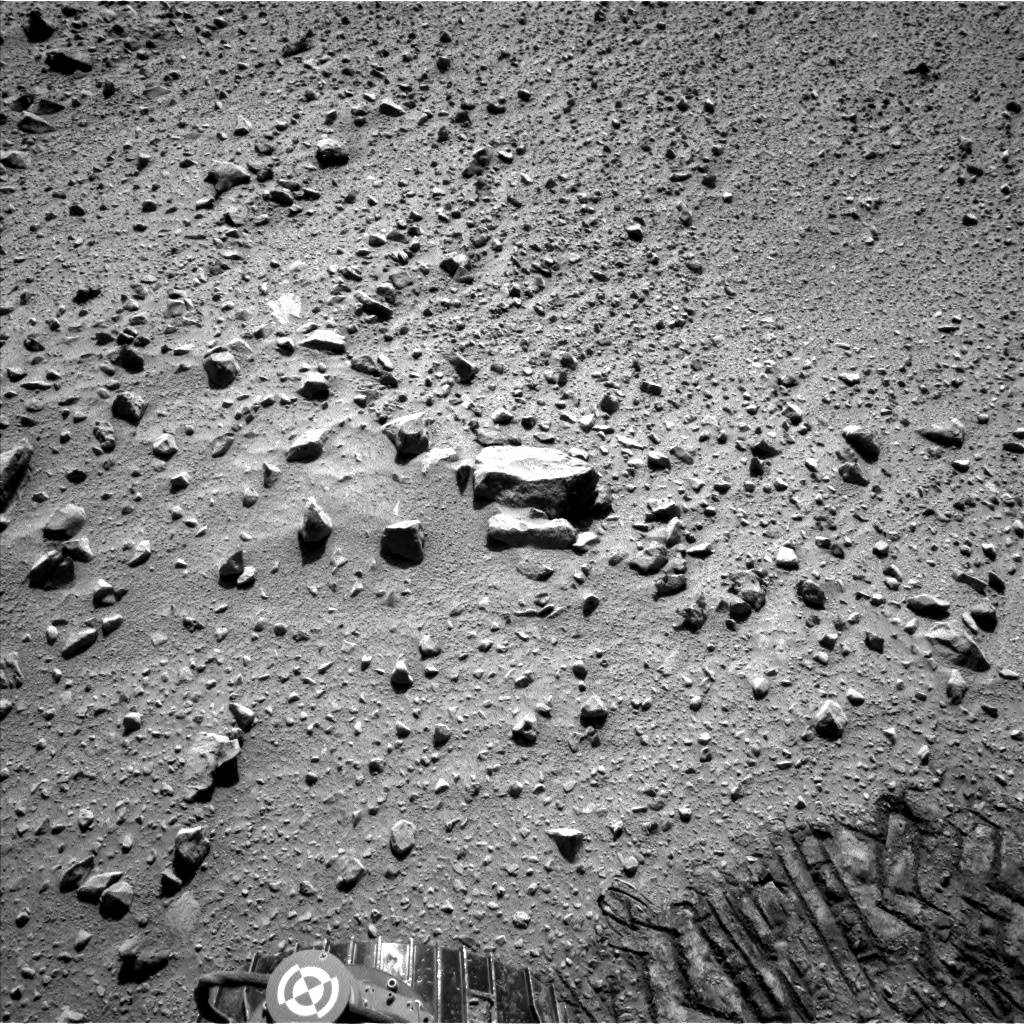 Nasa's Mars rover Curiosity acquired this image using its Left Navigation Camera on Sol 559, at drive 914, site number 28