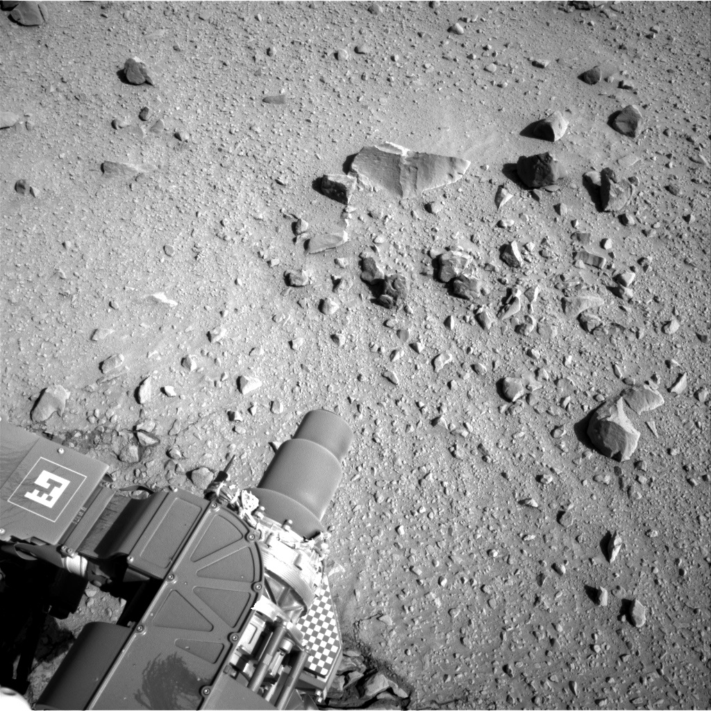 Nasa's Mars rover Curiosity acquired this image using its Right Navigation Camera on Sol 559, at drive 914, site number 28