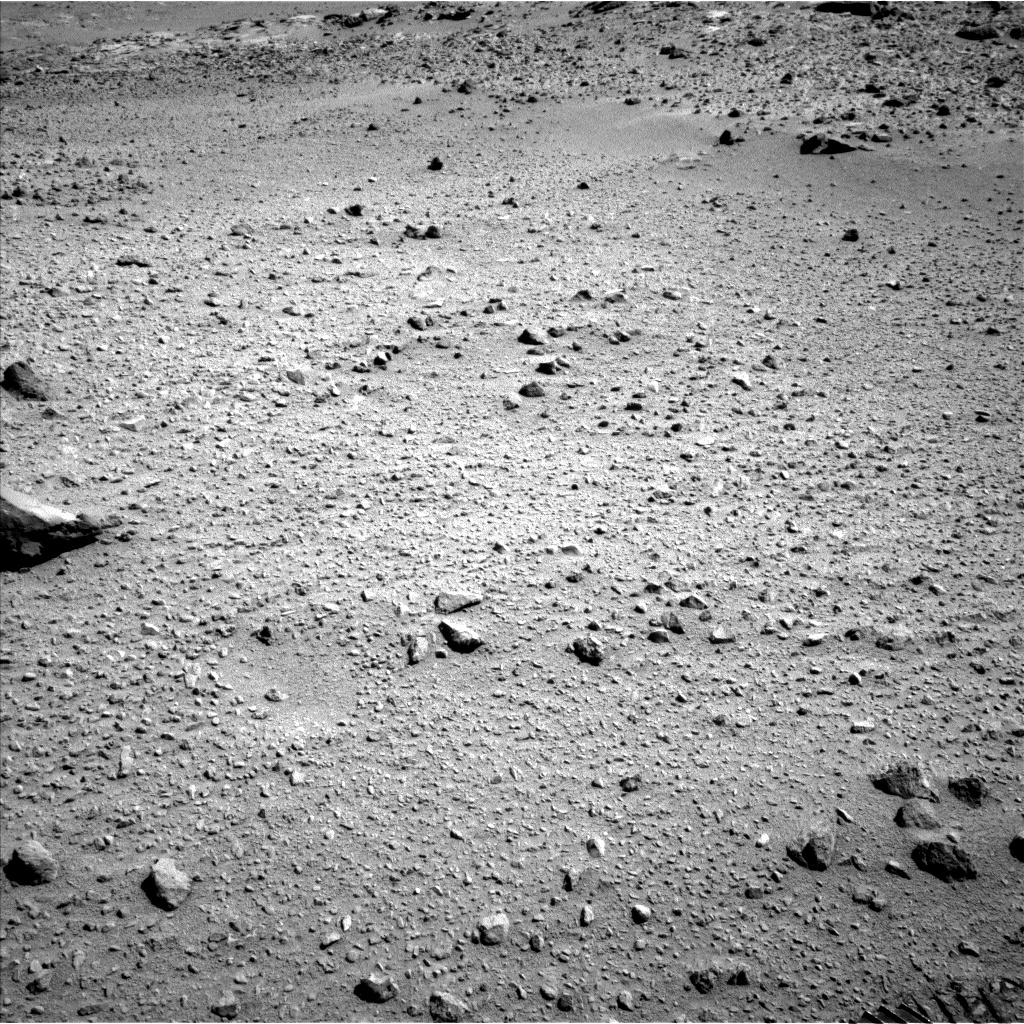 Nasa's Mars rover Curiosity acquired this image using its Left Navigation Camera on Sol 561, at drive 1296, site number 28