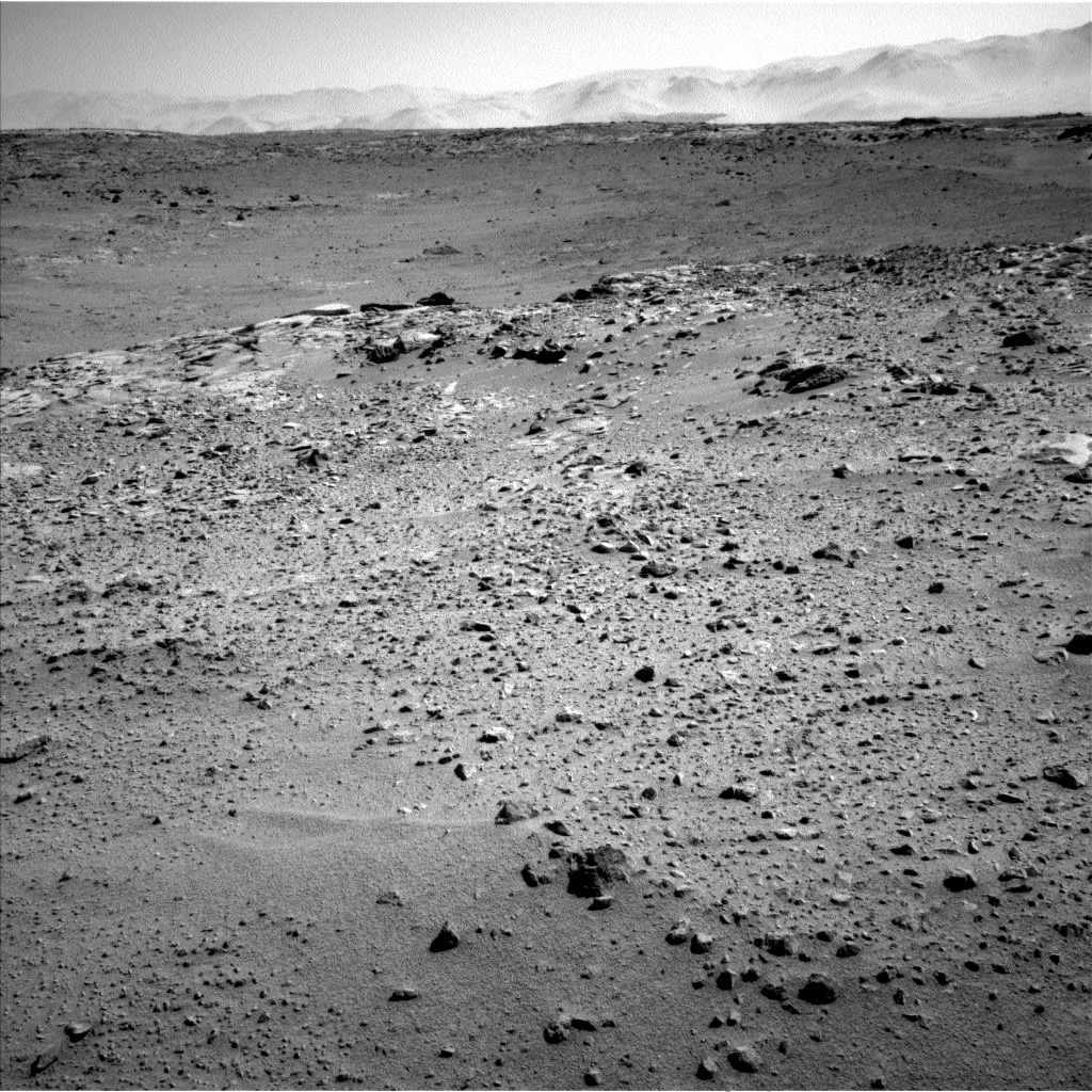 Nasa's Mars rover Curiosity acquired this image using its Left Navigation Camera on Sol 561, at drive 1350, site number 28