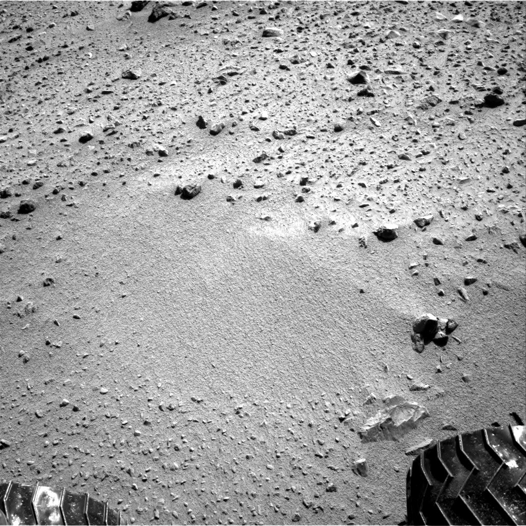 Nasa's Mars rover Curiosity acquired this image using its Right Navigation Camera on Sol 561, at drive 1350, site number 28