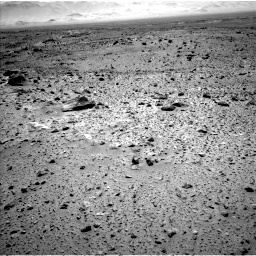 Nasa's Mars rover Curiosity acquired this image using its Left Navigation Camera on Sol 563, at drive 1386, site number 28
