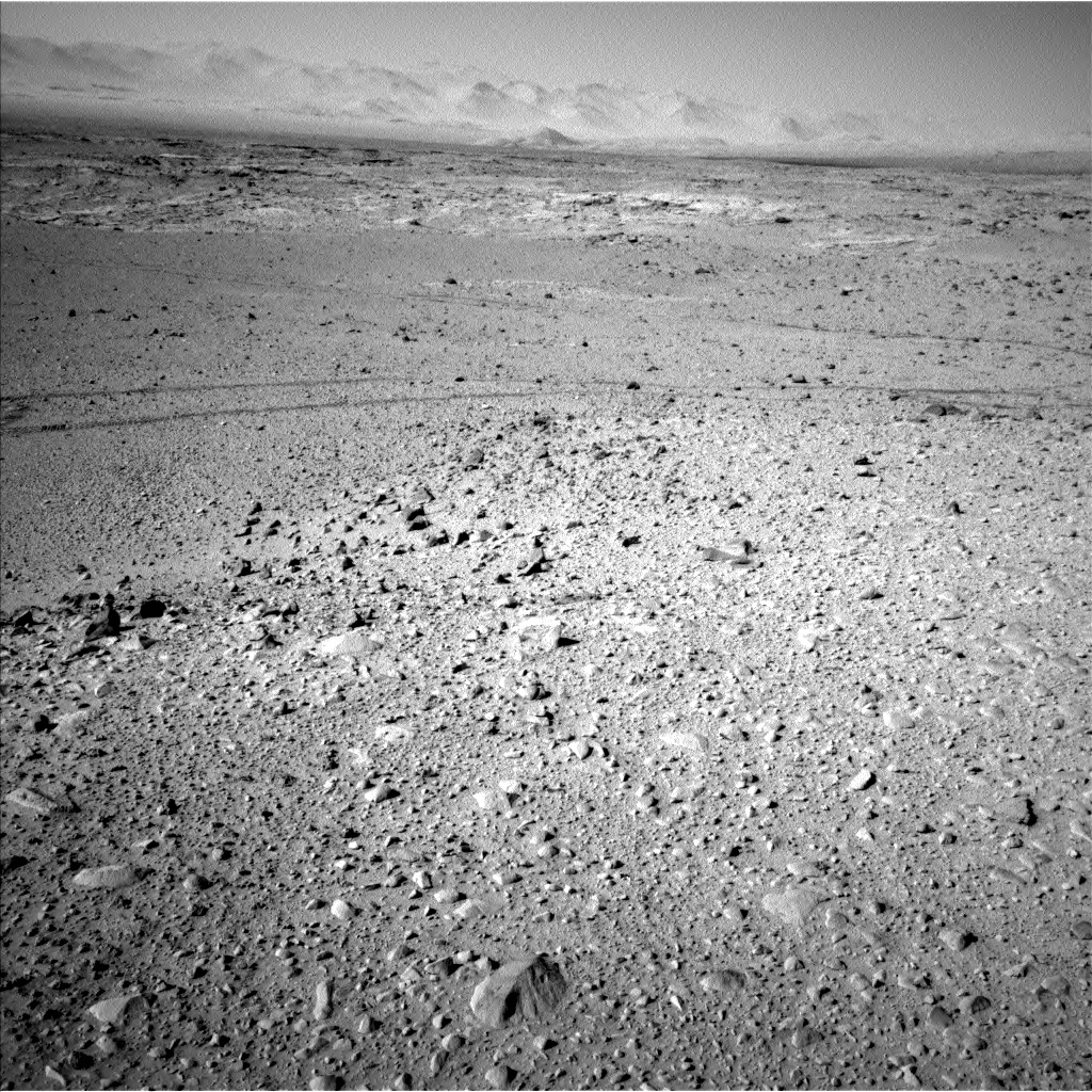 Nasa's Mars rover Curiosity acquired this image using its Left Navigation Camera on Sol 563, at drive 0, site number 29