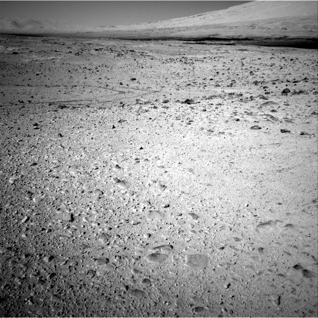 Nasa's Mars rover Curiosity acquired this image using its Right Navigation Camera on Sol 563, at drive 0, site number 29