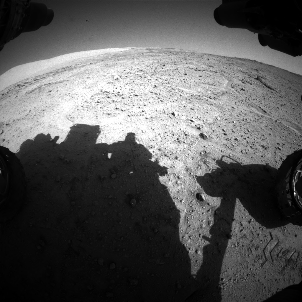 Nasa's Mars rover Curiosity acquired this image using its Front Hazard Avoidance Camera (Front Hazcam) on Sol 564, at drive 298, site number 29