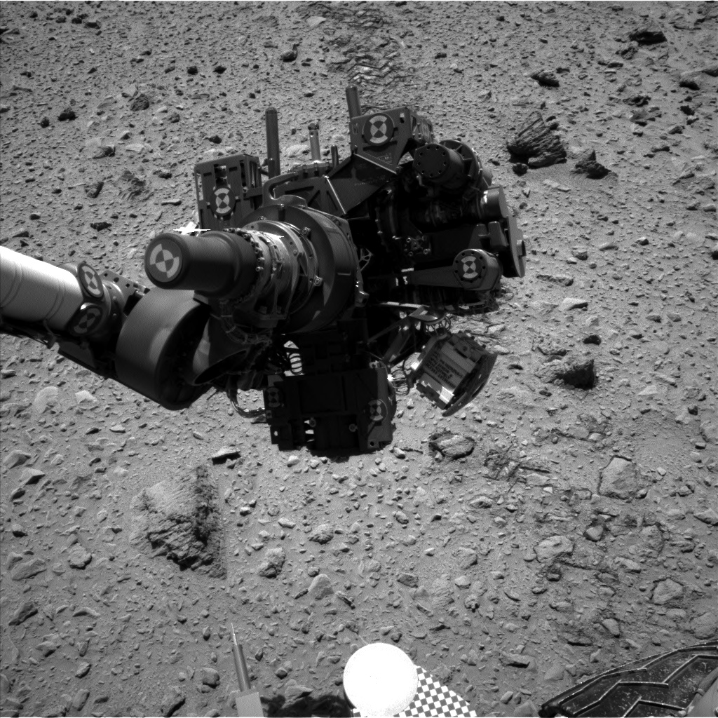 Nasa's Mars rover Curiosity acquired this image using its Left Navigation Camera on Sol 564, at drive 0, site number 29