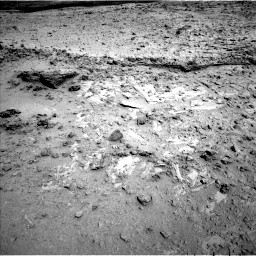 Nasa's Mars rover Curiosity acquired this image using its Left Navigation Camera on Sol 564, at drive 156, site number 29
