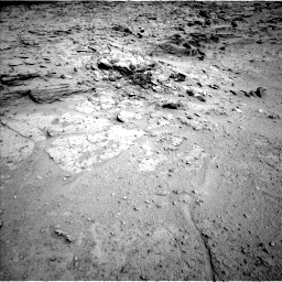Nasa's Mars rover Curiosity acquired this image using its Left Navigation Camera on Sol 564, at drive 204, site number 29