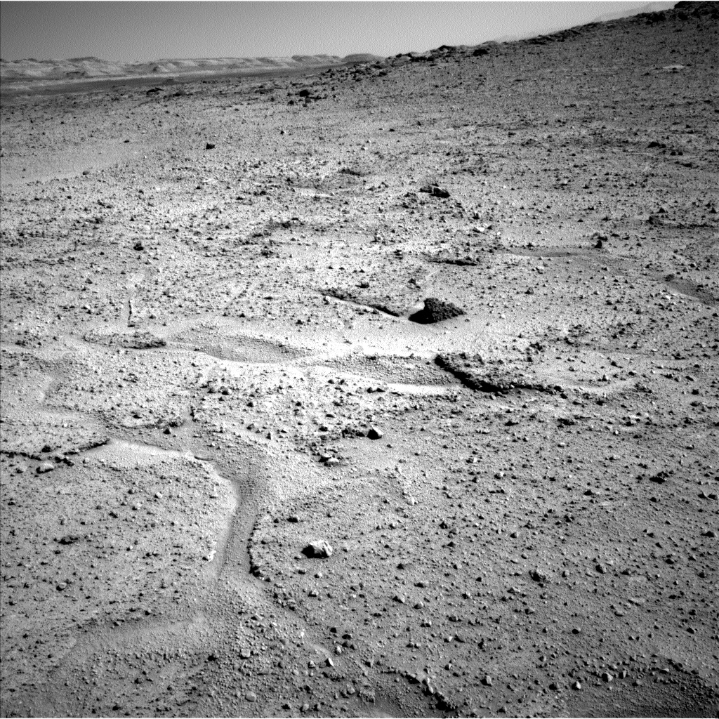 Nasa's Mars rover Curiosity acquired this image using its Left Navigation Camera on Sol 564, at drive 298, site number 29