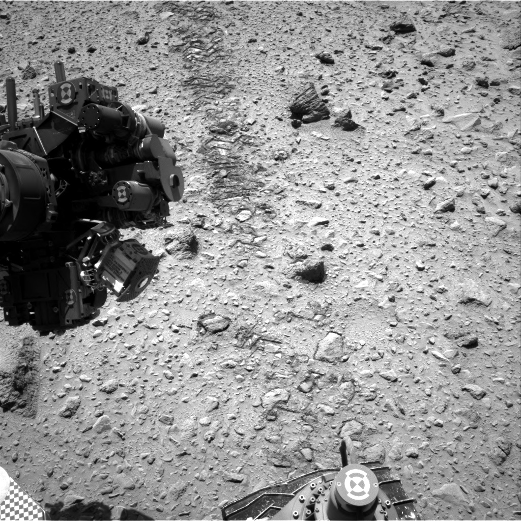Nasa's Mars rover Curiosity acquired this image using its Right Navigation Camera on Sol 564, at drive 0, site number 29