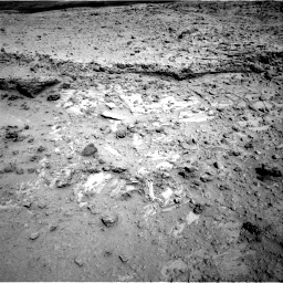 Nasa's Mars rover Curiosity acquired this image using its Right Navigation Camera on Sol 564, at drive 156, site number 29