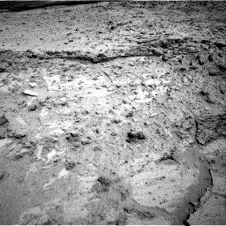 Nasa's Mars rover Curiosity acquired this image using its Right Navigation Camera on Sol 564, at drive 162, site number 29