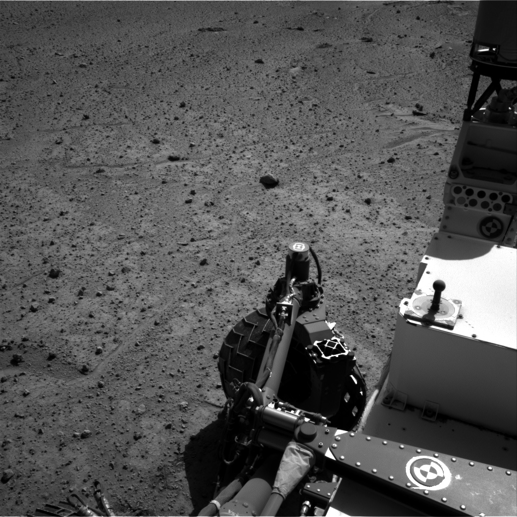 Nasa's Mars rover Curiosity acquired this image using its Right Navigation Camera on Sol 564, at drive 252, site number 29