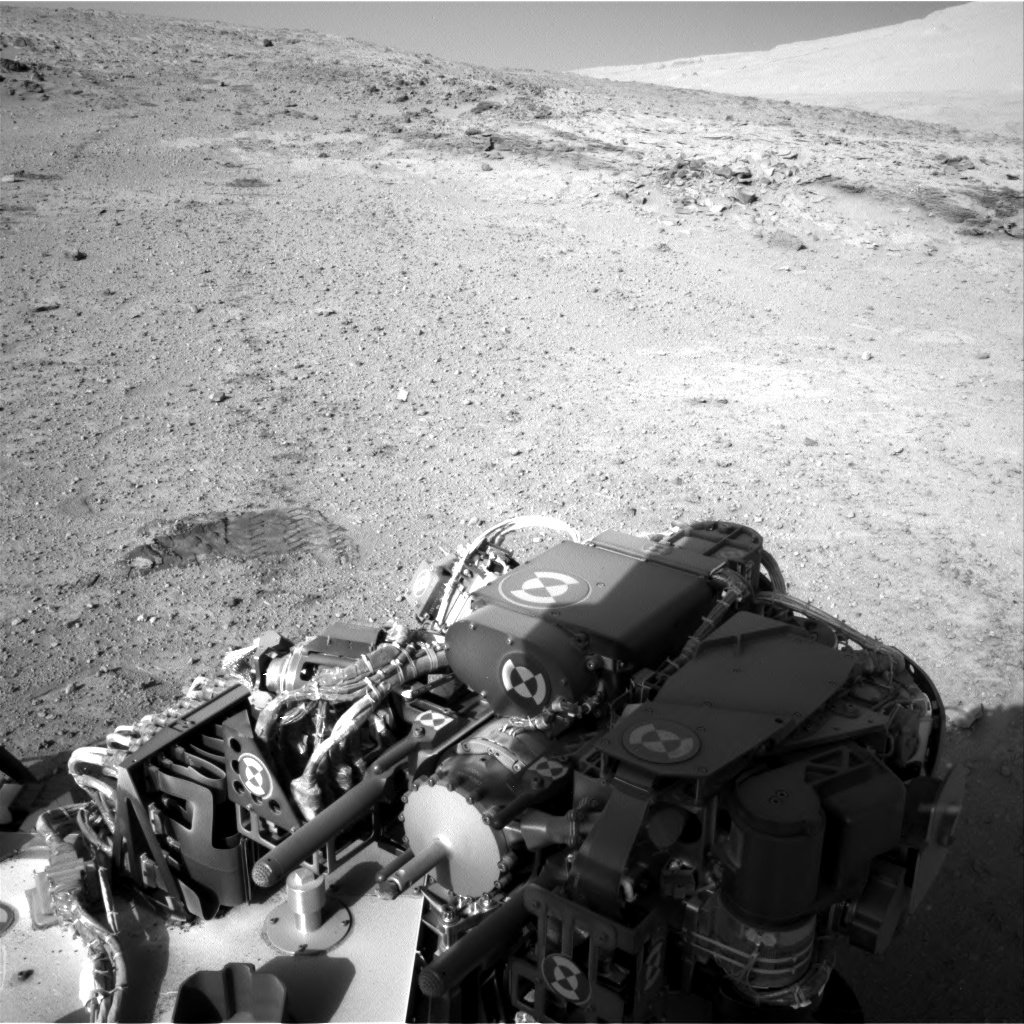 Nasa's Mars rover Curiosity acquired this image using its Right Navigation Camera on Sol 564, at drive 298, site number 29