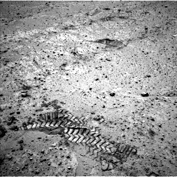Nasa's Mars rover Curiosity acquired this image using its Left Navigation Camera on Sol 565, at drive 328, site number 29