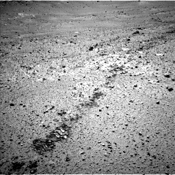 Nasa's Mars rover Curiosity acquired this image using its Left Navigation Camera on Sol 565, at drive 424, site number 29