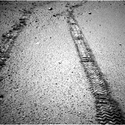 Nasa's Mars rover Curiosity acquired this image using its Left Navigation Camera on Sol 565, at drive 484, site number 29