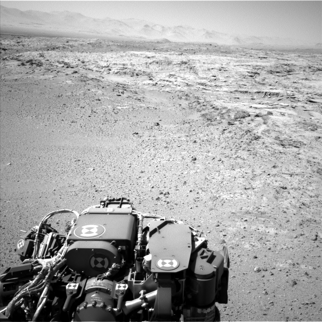 Nasa's Mars rover Curiosity acquired this image using its Left Navigation Camera on Sol 565, at drive 536, site number 29
